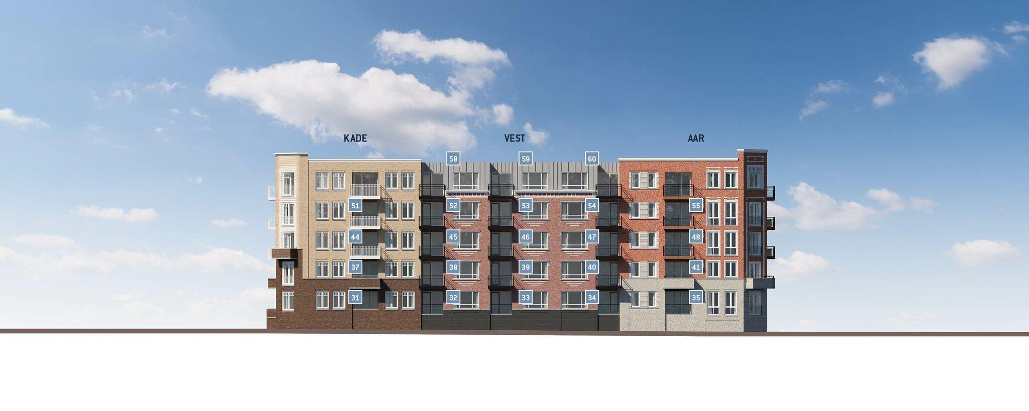 IN VERKOOP Het woningaanbod van deze derde (en laatste fase) bestaat uit 11 stadsvilla's, 8 herenhuizen en 10 grachtenpanden, 30 appartementen en 2 penthouses. De woningen en appartementen van deze laatste fase zijn georiënteerd op het Aarplein, de Vest, de Metaheerhuiskade of de Aarkade. Alle woningen beschikken over een eigen privé parkeerplek en berging in de halfverdiepte parkeergarage. De locatie en de woningdiversiteit maken het plan uniek en creëert een mix van nieuwbouw in een levendige woonomgeving. Het woningaanbod is zeer gevarieerd in woningtypen en sferen en bestaat uit: 8 herenhuizen Er komen unieke herenhuizen op verschillende plekken in het Aarkadekwartier. De herenhuizen hebben een woonoppervlak vanaf ca. 145 tot ca. 173 m2. De prijzen beginnen bij € 429.500 v.o.n. 11 stadsvilla's Deze luxe stadswoningen hebben een statige bordestrap en een interne toegang naar de garage, variërend in woonoppervlak vanaf ca. 145 tot ca. 173 m2. De prijzen beginnen bij […]
