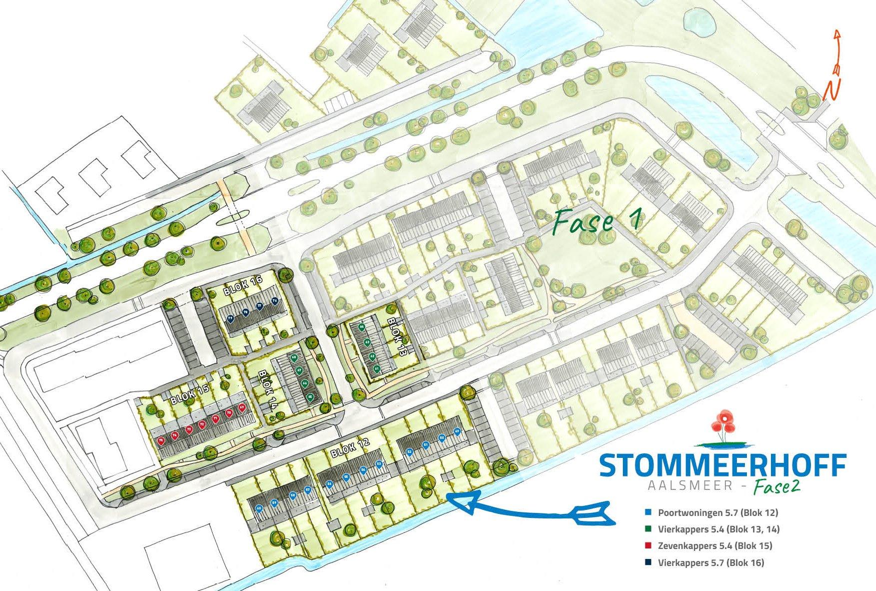 Start verkoop 15 oktober as. om 13.00 uur. U kunt zich inschrijven op de website stommeerhoff.nl en de sluitdatum is zondag 25 oktober as. om 22.00 uur Stommeerhoff – fase 2 Een variatie van 31 woningen in de vorm van hoeken poortwoningen, vierkappers en zevenkappers. De woningen in project 'Stommeerhoff' maken onderdeel uit van Polderzoom. In Polderzoom worden verschillende woonbuurten met een dorps karakter gerealiseerd. Op basis van het woningbouwprogramma van de gemeente Aalsmeer is voor Stommeerhoff een plan opgesteld dat woningen voorziet in verschillende segmenten. Het gaat om 31 woningen, vanaf 140m2 gbo incl. een uitbouw van 2.4 op de begane grond. In Stommeerhoff woont u wellicht op één van de mooiste plekken van Aalsmeer. Polderzoom fase 1 is inmiddels afgerond en bewoond. Stommeerhoff is goed bereikbaar, gelegen in een groene omgeving met de dynamiek van de randstad op korte afstand. In Stommeerhoff is ruimte voor zowel jong als […]